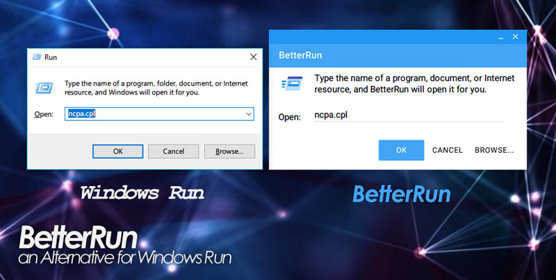 BetterRun | a alternative for Windows run.exe